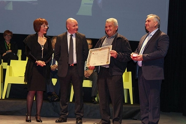 Pigafetta Award for the Internationalization given to FASP by the Chamber of Commerce of Vicenza